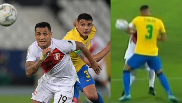 Roberto Tobar no consideró necesario el uso del VAR en polémica jugada del Perú vs. Brasil. (Foto: Twitter)
