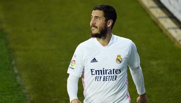 Hazard ha jugado catorce partidos de la liga española en la temporada 2020-21. (Foto: Reuters)