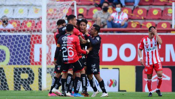 Necaxa vs. Atlas se enfrentaron por la jornada 17 del Clausura de la Liga MX. (Foto: Mexsport)