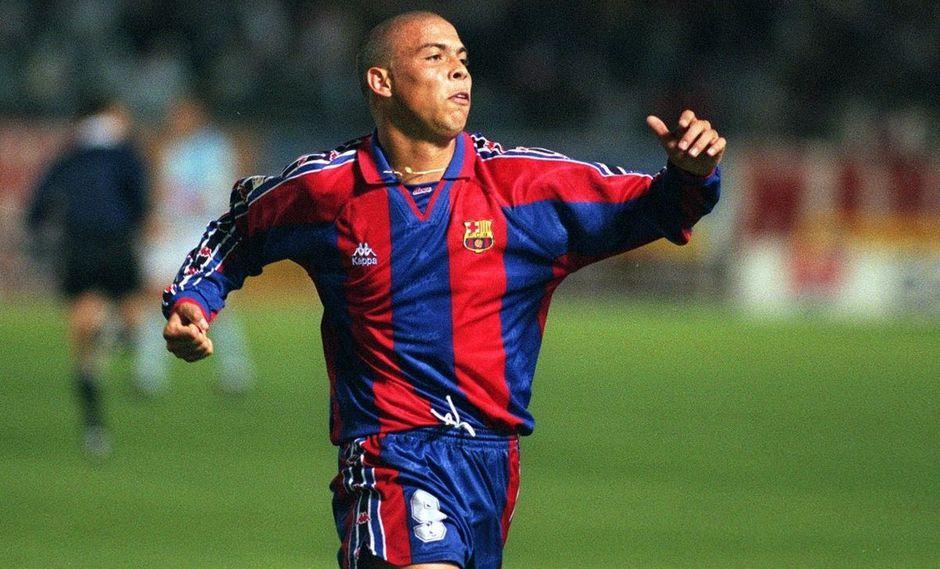 Ronaldo Nazario no pasó directamente de jugar en Barcelona al Real Madrid. (Foto: Getty Images)