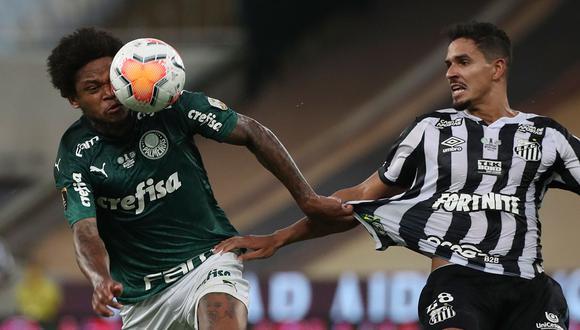 Palmeiras venció 1-0 a Santos por la gran final de la Copa Libertadores en el Maracaná. (Foto: AFP)