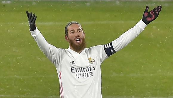 PSG ya tiene lista la oferta para Sergio Ramos con condiciones económicas superiores a la del Real Madrid. (Foto: AFP)