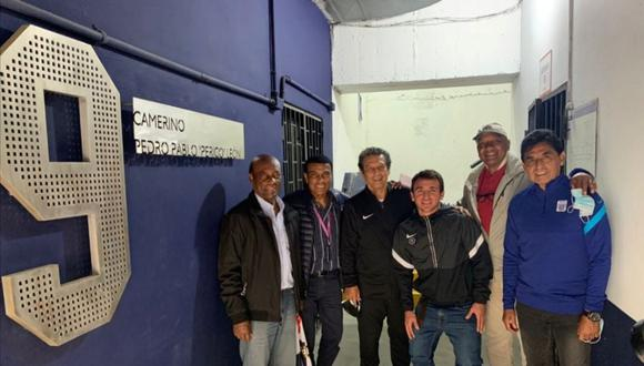 Todas las exfiguras se reunieron en el estadio Alejandro Villanueva (Foto: Twitter Jaime Duarte)