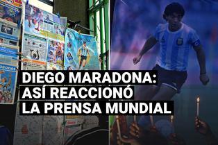 Así reaccionó la prensa mundial tras conocer la muerte de Diego Maradona