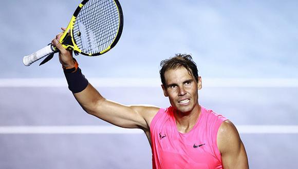 Rafa ha ganado dos títulos en el Abierto Mexicano de Tenis. (Foto: Getty Images)