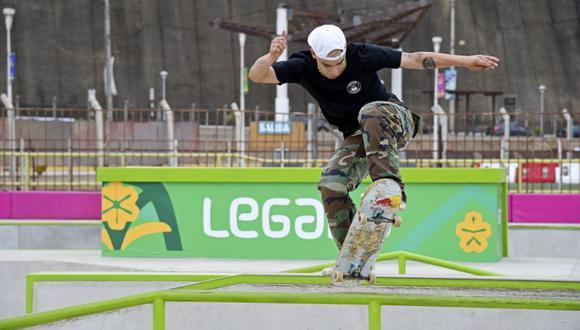 Angelo Caro se prepara ara asistir a su primera cita en los Juegos Olímpicos Tokio 2020. (Foto: Legado)