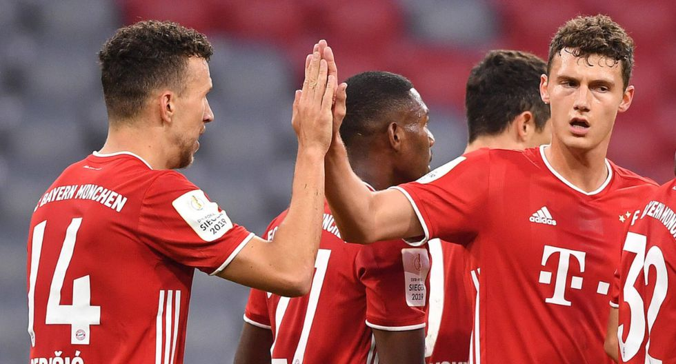 Con goles de Perisic y Lewandowski, Bayern Munich sacó boleto para la final de la Copa Alemana 2020. (Twitter)