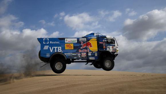 Andrey Karginov fue excluido del Dakar 2019 tras la quinta etapa. (Foto: AFP)