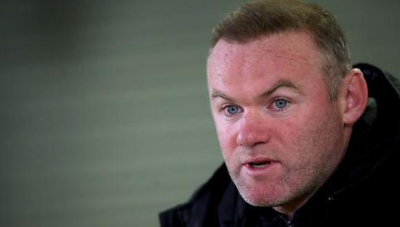 Wayne Rooney es el director técnico del Derby County F.C. de la EFL Championship. (Foto: Getty Images)