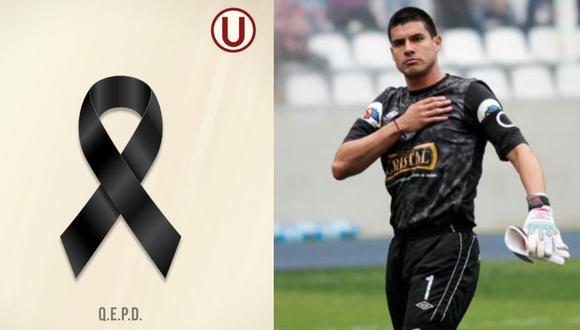 Universitario mandó sus condolencias a Delgado. (Foto: Prensa 'U' / GEC)