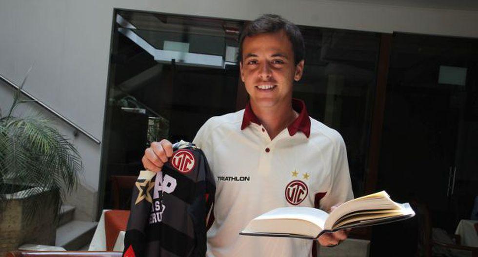 Bruno Agnello se formó en el Santos, ahí coincidió con varias figuras mundiales. (Luis Padilla)