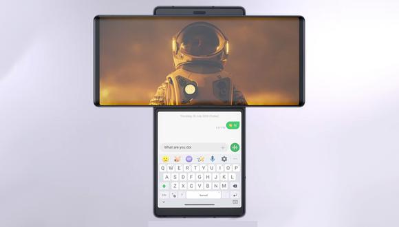 Conoce todas las características y detalles del smartphone con alas, el LG Wing. (Foto: LG)
