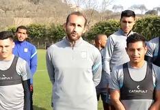 Todos juntos: Hernán Barcos comandó mensaje de aliento al equipo femenino de Alianza Lima [VIDEO]