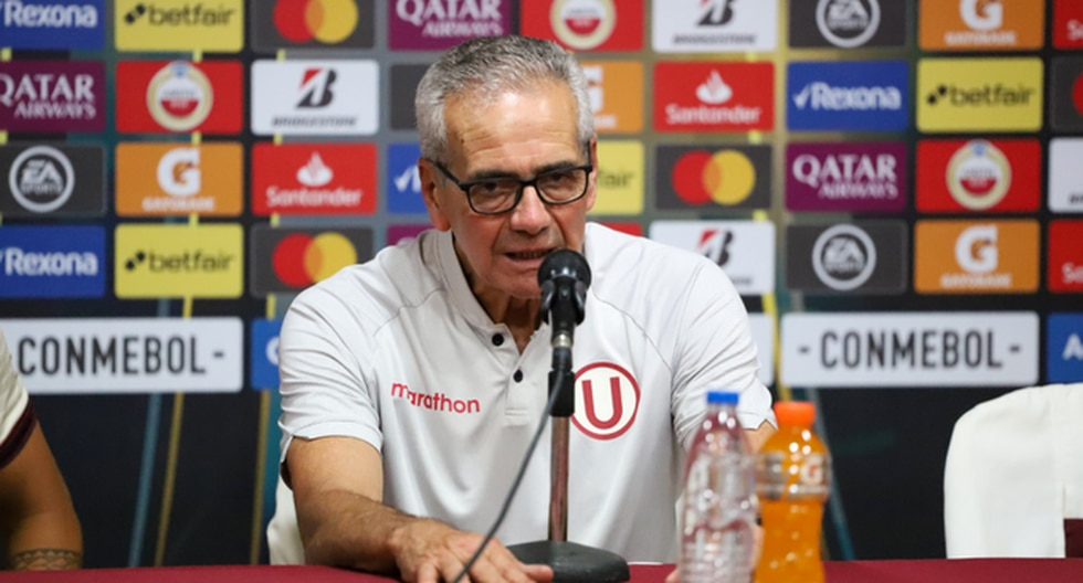 Pérez habló tras la victoria de Universitario sobre Carabobo. (Agencias)