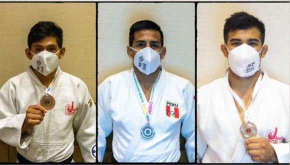 Judocas peruanos ganaron medalla en el Campeonato Panamericano Guadalajara 2021. (Foto: Confederación Panamericana de Judo)