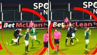 Arquero fue expulsado por agredir a un jugador de su propio equipo tras recibir un gol