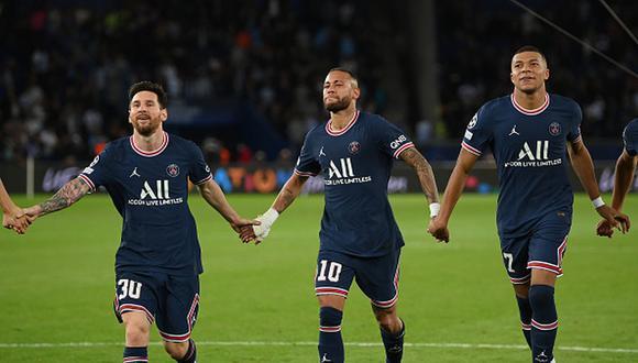 Kylian Mbappé tiene contrato con el PSG hasta mediados de 2022. (Getty)