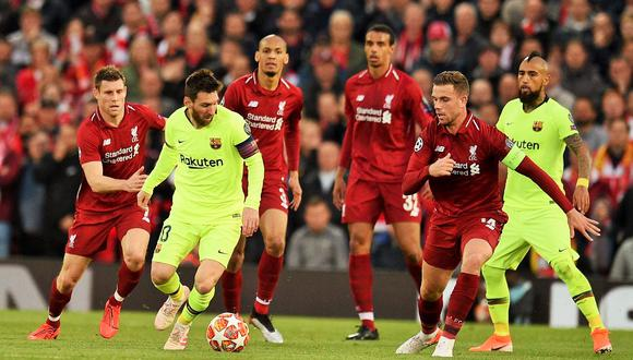 Liverpool goleó la temporada pasada 4-0 al Barcelona en semifinales de la Champions League. (Foto: AFP)