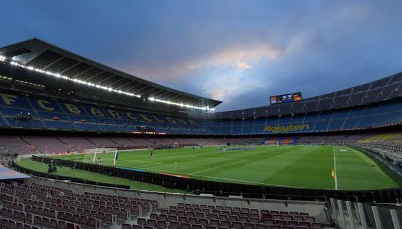 Candidato a la presidencia del FC Barcelona tiene un proyecto para el regreso del público al Camp Nou. (Foto: AFP)