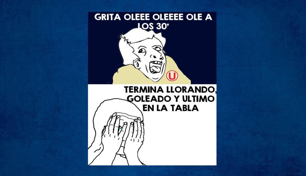Alianza Lima venció a Universitario de Deportes y los memes vacilaron con todo a los cremas