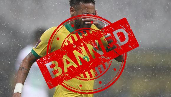Neymar Jr.'baneado' de Twitch por filtrar datos personales. (Foto: EFE/ Buda Mendes POOL)