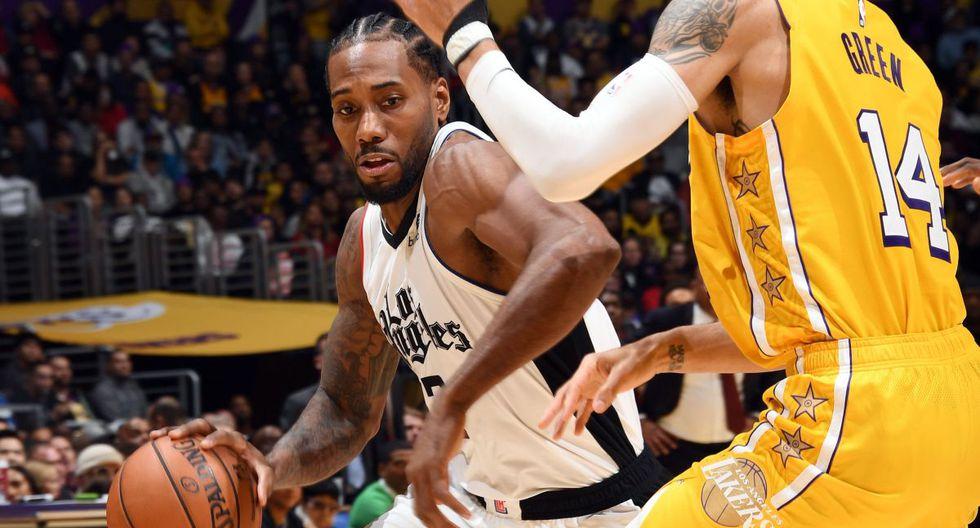 Los Clippers vencieron a los Lakers por 111-106 en el duelo navideño de la NBA desde el Staples Center. (Foto: NBA)