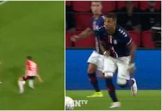 Sergio Peña entró al once ideal de la Eredivisie y FC Emmen destacó una acción del peruano [VIDEO]