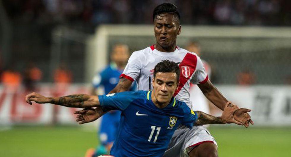 Pedro Aquino ha jugado 4 partidos en las Eliminatorias Rusia 2018. Ha sumado también en la Copa Libertadores. (Foto: AFP)