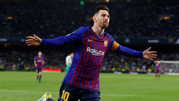 Lionel Messi tiene contrato con el FC Barcelona hasta junio de 2021. (AFP)