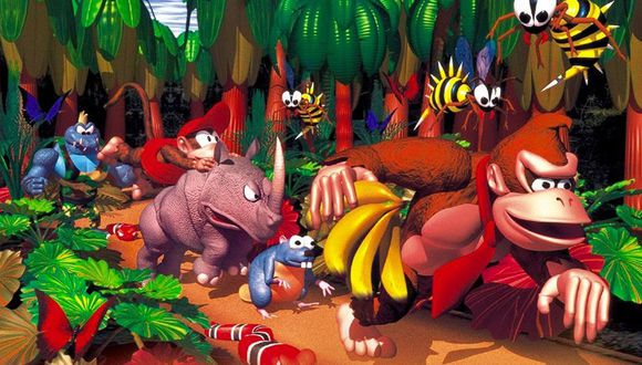 Donkey Kong Country llega a Nintendo Switch.