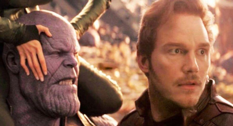 Star-Lord se entera del asesinato de Gamora por parte de Thanos en 'Infinity War'