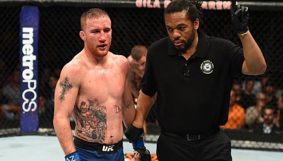 El extraño pedido de Justin Gaethje a Tony Ferguson para el UFC 249. (Getty Images)