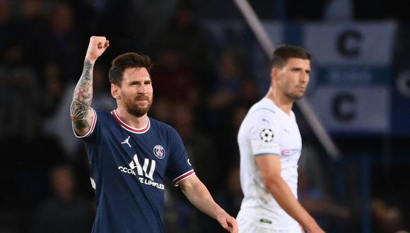 PSG venció al Manchester City por la Champions League y Lionel Messi marcó uno de los goles. (Foto: AFP)