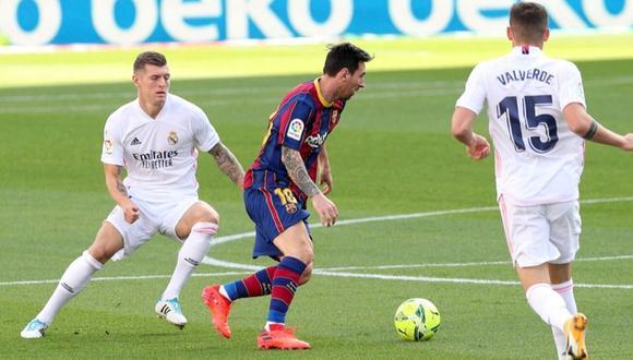 Real Madrid y Barcelona sostendrán el duelo más atractivo de la fecha 30 de La Liga. (Foto: Reuters)