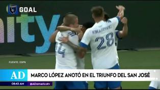 Marcos López anota golazo de cabeza en la victoria del San José Earthquakes