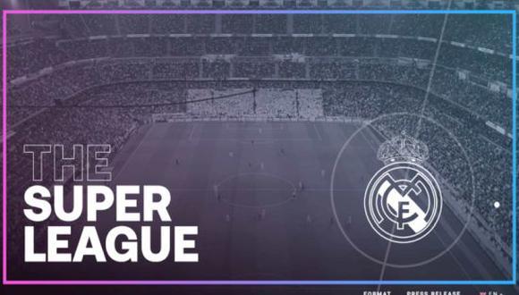 Real Madrid, Barcelona, Atlético de Madrid, Juventus, AC Milán e Inter de Milán seguirán en el proyecto. (Foto: Superliga Europea)