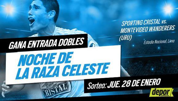 Sporting Cristal: Depor te regala entradas dobles para la 'Noche de la Raza Celeste'