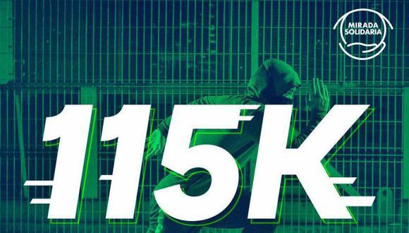 Mirada Solidaria, la campaña de donación que podría beneficiar a 115 deportistas con discapacidades físicas y visuales. (Difusión)