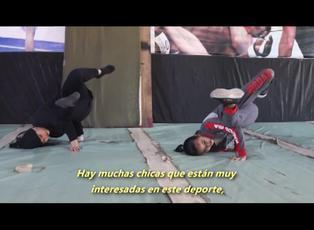 El desafío del breakdance en Afganistán