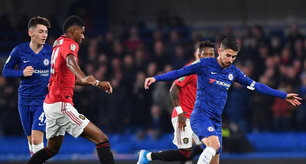 Chelsea juega contra Manchester United por la Premier League. Conoce las horas y canales TV para ver todos los partidos de hoy, lunes 17 de febrero. (Foto: AFP)
