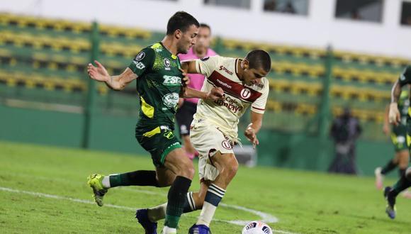 Universitario volverá a enfrentar a Defensa y Justicia por Copa Libertadores. (Foto: Universitario de Deportes)