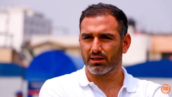 Gerente deportivo de César Vallejo, Luis Gálvez, exhortó a que se reconsidere la ayuda a los clubes de provincia. (Foto: Prensa Vallejo)