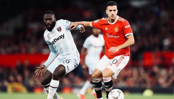 Manchester United cayó ante el West Ham por la Copa de la Liga. (Foto: AFP)
