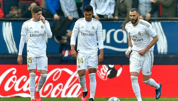 Valverde, Casemiro y Benezema estarán ausentes para el choque ante Villareal.
