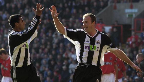 Alan Shearer es el máximo goleador de la Premier League con 260 tantos. (Foto: AFP)