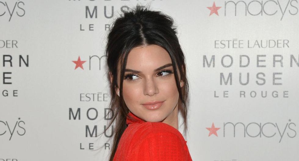 Kendall Jenner borró el video al poco tiempo de publicarlo. (AFP)