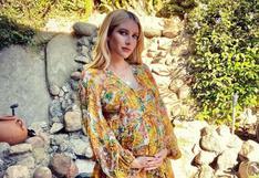 Emma Roberts enternece con la primera fotografía al lado de su bebe