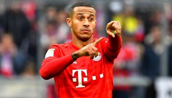 Thiago Alcántara llegó en el 2013 al Bayern Munich procedente del FC Barcelona. (Foto: AFP)