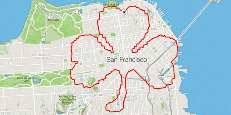 ¿Quieres 'dibujar' tu recorrido en Google Maps? Así puedes lograrlo usando este truco. (Foto: Google)