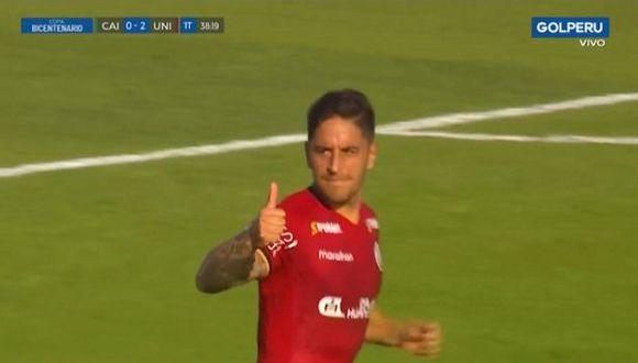 Alejandro Hohberg alargó el marcador desde los doce pasos por la Copa Bicentenario. (Vídeo: GOLPERU)